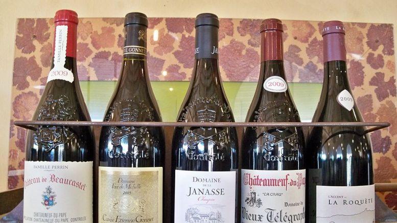 Les vins d'exception de Chateauneuf du Pape
